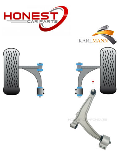 For VAUXHALL ASTRA J MK6 FRONT LEFT LOWER TRACK CONTROL WISHBONE ARMS 2009 NEW