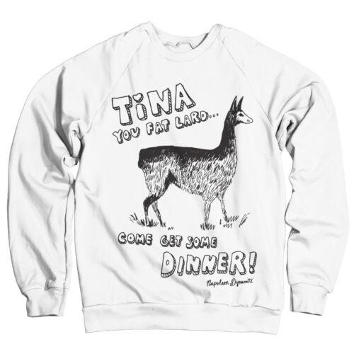 Officially Licensed Napoleon Dynamite Tina Sweatshirt S-XXL Sizes
