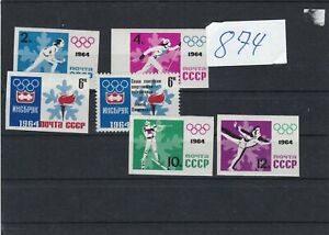 russia 1964 olympics perf & imperf  mnh collectable stamps ref r12297