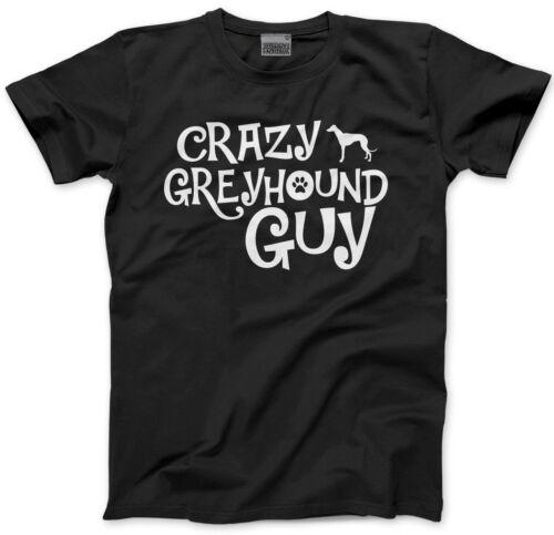 Crazy Levriero Guy-Dog Puppy Pet Regalo Bambini T-shirt
