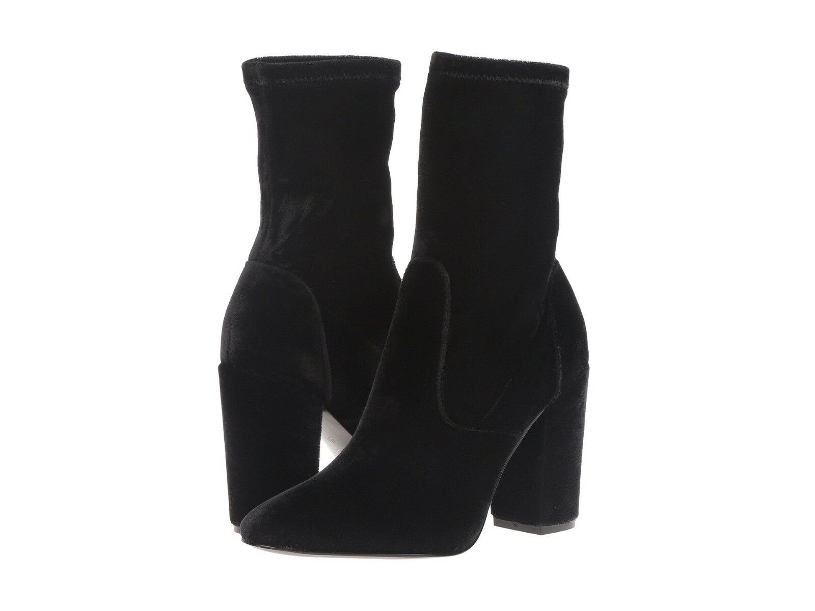 Ivanka Trump Women's Boots Lynna Black Suede Boot Block-Heel Booties 6M