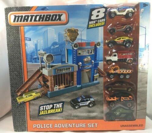Matchbox Police Adventure Set Dyy24 For Sale Online Ebay