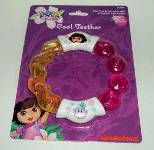Nickelodeon DORA THE EXPLORER Cool Teether Teething Ring BPA Free Complies #2