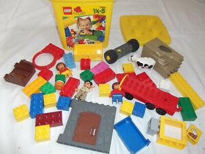 LEGO-DUPLO-EIMER-GEFULLT-MIT-GEMISCHTEN-STEINEN-KONVOLUT-SAMMLUNG-7800