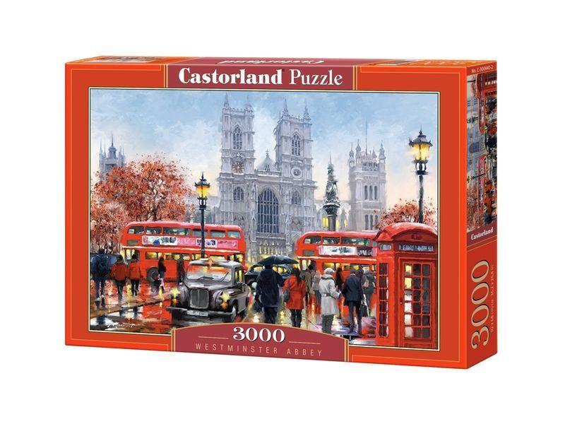 Castorland puzzle 3000 stcke - westminster abbey - 36  x27  versiegelte kiste c-300440