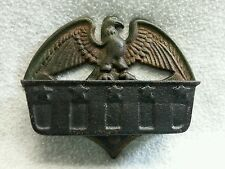 Vintage Eagle Match Box Holder Striker Cast Iron Marked 220 EB Patriotic