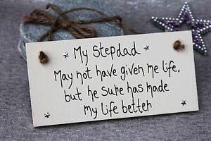 Image Is Loading Personalised Step Dad Daddy Gifts Happy Birthday