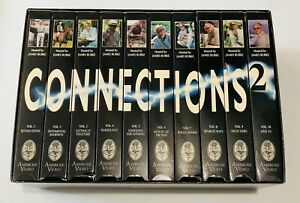 CONNECTIONS-2-10-VHS-Box-Set-RARE-Science-amp-Technology-Documentary-James-Burke