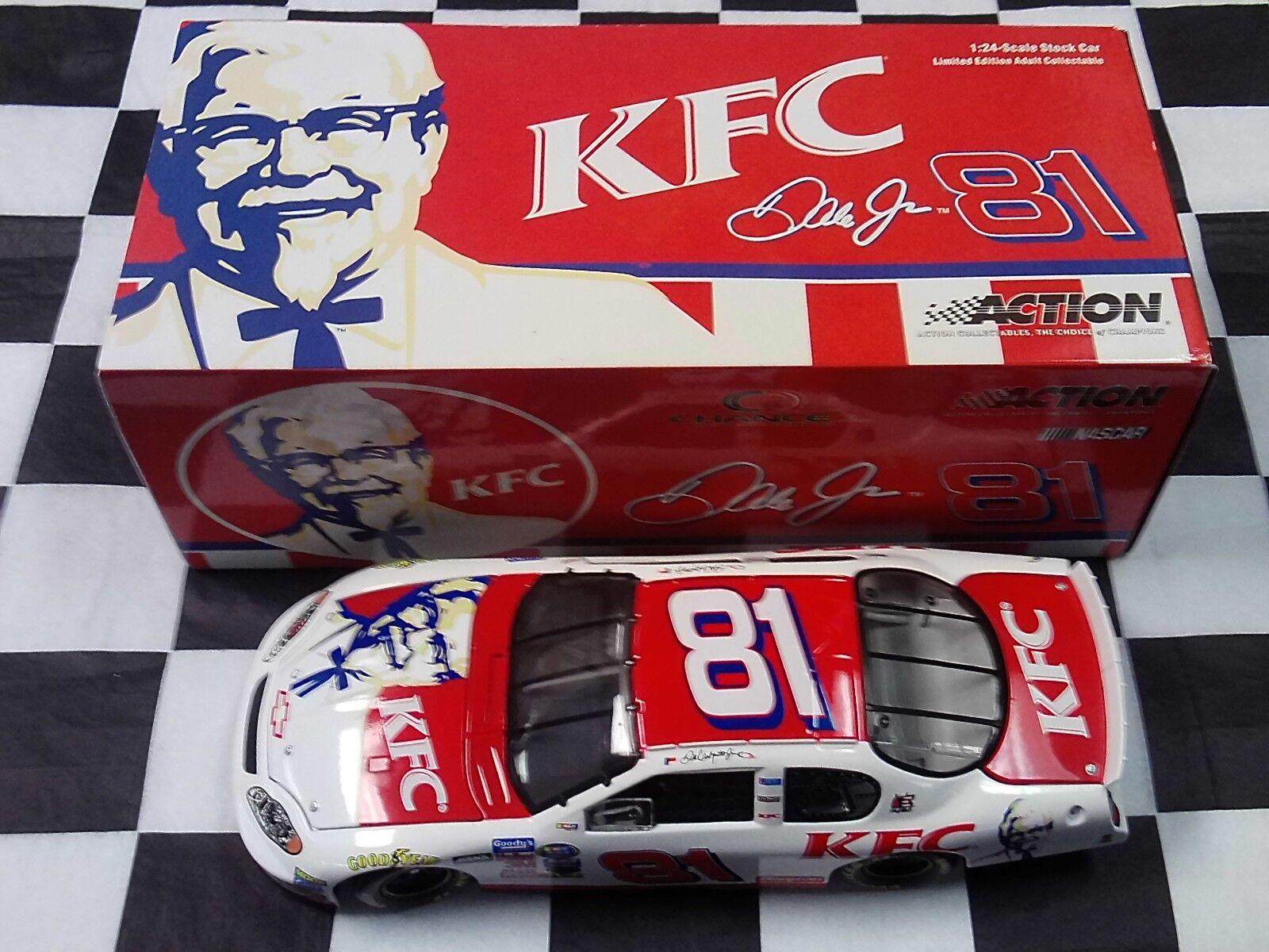 Dale Earnhardt Jr  81 KFC 2004 Monte Carlo 1 24 Car Action NIB NASCAR
