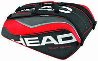 Head Tour Team Monstercombi 12 Racquet Racket Tennis Bag - Black/red - Reg $90