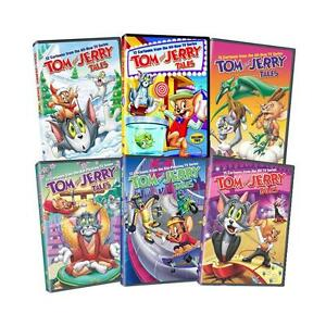 Details about Tom and Jerry Tales TV Series Complete Volumes 1-6 (78  EPISODES) NEW 6-DISC DVD