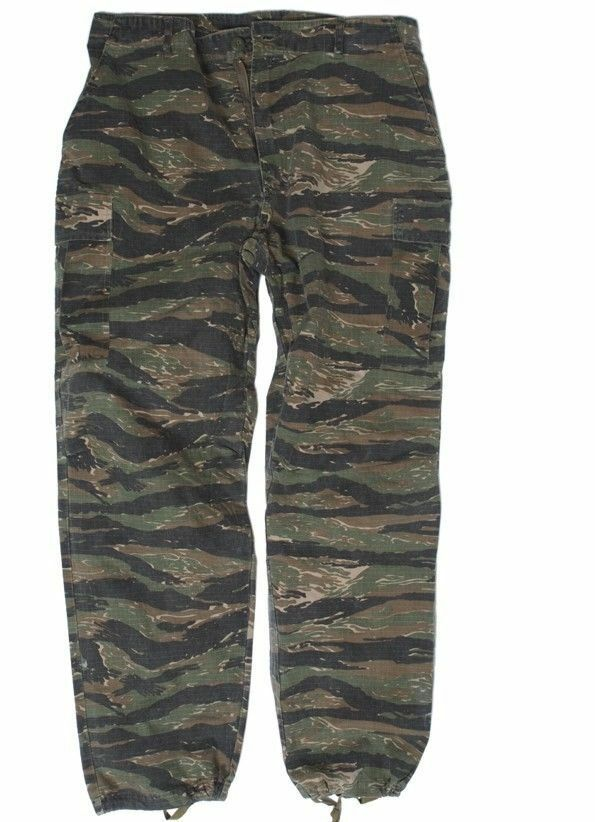 Us Army campo pantalones vietnam Tiger Stripe Jungle pantalones  Pants m64 marines repro large  deportes calientes