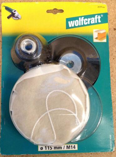 Wolfcraft Hobby Sortiment Winkelschleifer  Schleifen Polieren Bürsten  2177000