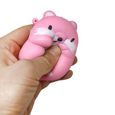 Trendy 1Pcs Jumbo PU Squishy Artifical Hamster Slow Rising Mobile Phone Straps