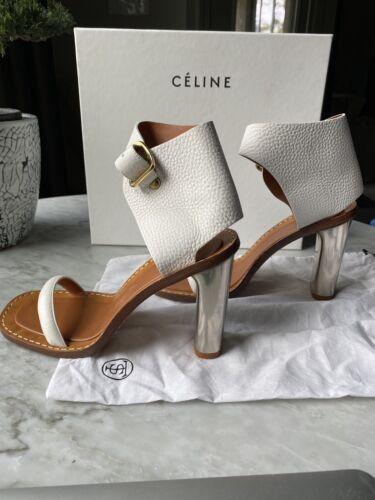 Celine Block Heel Sandal Size 39.5