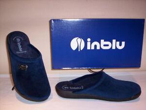 Ciabatte-pantofole-chiuse-Inblu-uomo-invernali-da-casa-new-40-41-42-43-44-45-46