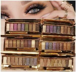 Diamante-9-Colores-Brillo-Sombra-de-Ojos-Paleta-Maquillaje-Sombra-de-ojos-cepillo-conjunto