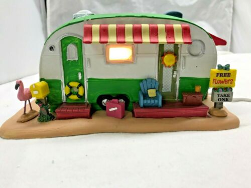 Camper Light-Up LEMAX Summer Americana Village House OUR SUMMER PARADISE