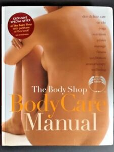 The body shop body care manual book yoga massage, wellbeing   in.