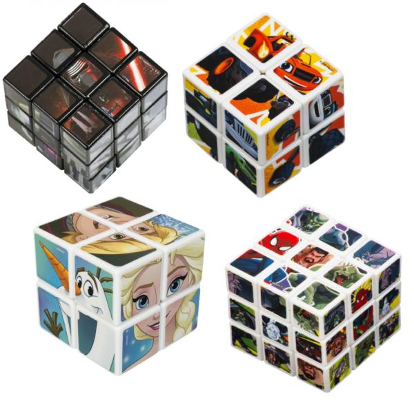 Bambini Rubik Puzzle Cube Quadrato Mind Gioco Star Wars Episode7 Frozen, Blaze