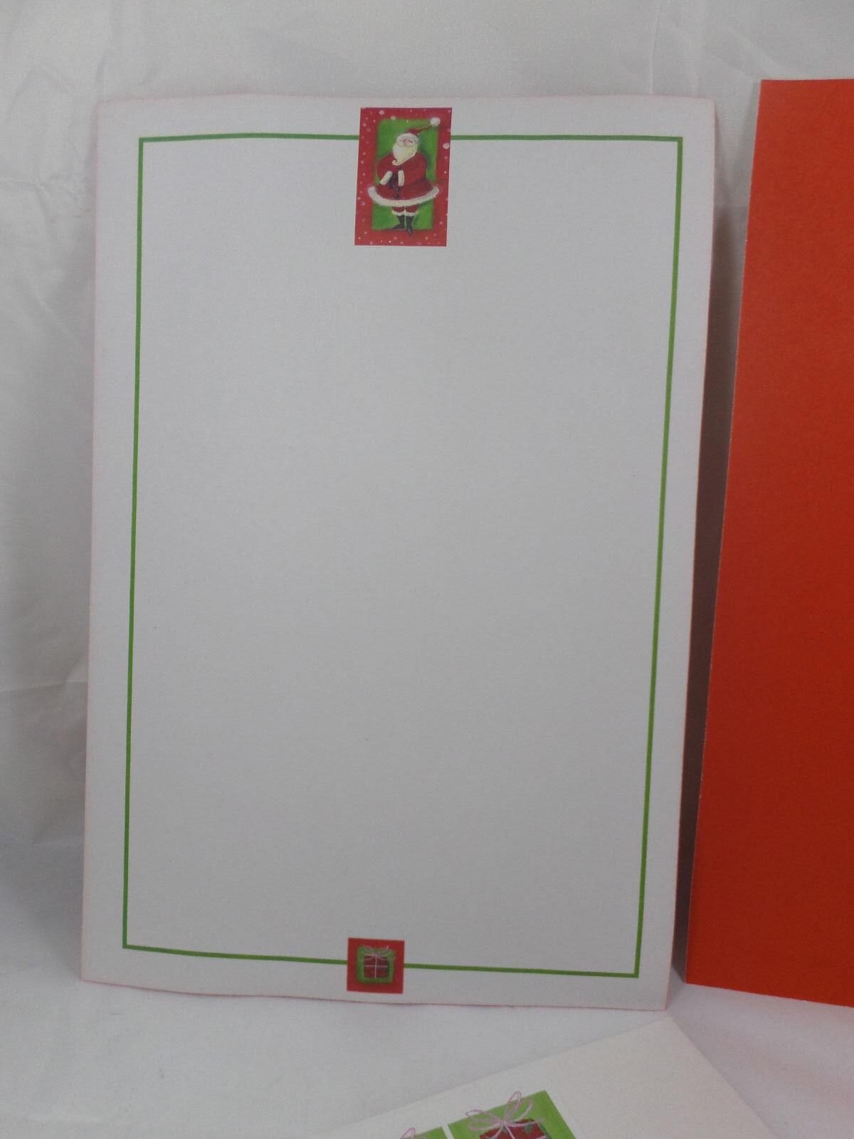 30 Schnauzer Christmas cards seals envelopes 90 pieces Santa Paws design
