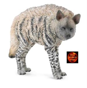 Nuevo Con Etiqueta * Hiena Animal Juguete de Vida Silvestre Modelo A Rayas por COLLECTA 88566