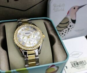 Fossil-Ladies-Multi-function-Watch-Two-tone-ES3204