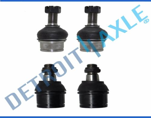 NEW 4pc Front Suspension Upper & Lower Ball Joint Set for Ford F250 & F350 4x4