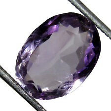 4.70Ct. Certified Natural Amethyst Voilet Brazilian Loose Gemstone stone-CH 1121