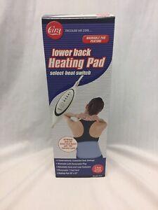 "Cara Lower Back Heating Pad 10"" x 22"" lower back & abdomen ..."