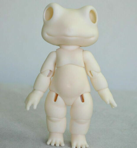 1//8 Mini BJD SD Dolls Toad No Make Up Bare Doll Resin without Any Make Up