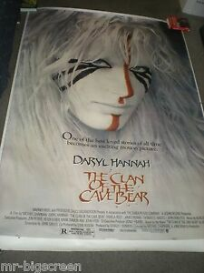 Clan Of The Cave Bear Original Giant Bus Stop Poster 1986
