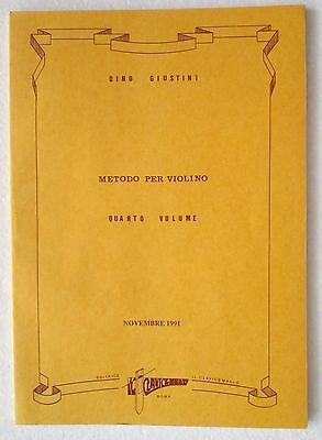 GeïMporteerd Uit Het Buitenland Dino Giustini Metodo Per Violino Volume Quarto Libro Il Clavicembalo Producten Worden Zonder Beperkingen Verkocht