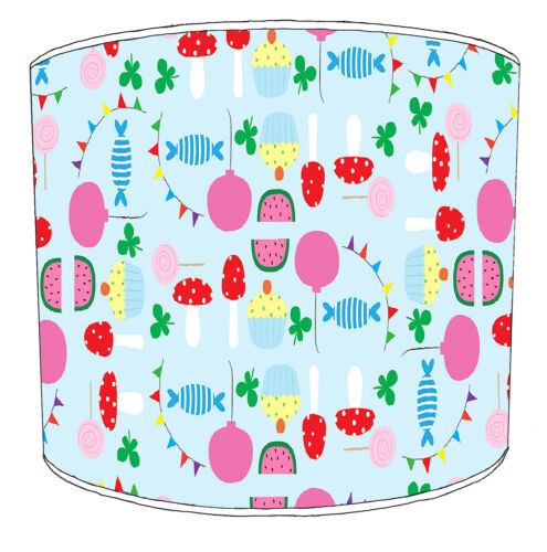 Cupcakes Lampshades Ideal To Match Cupcakes Cushions /& Cupcakes Duvets Covers.
