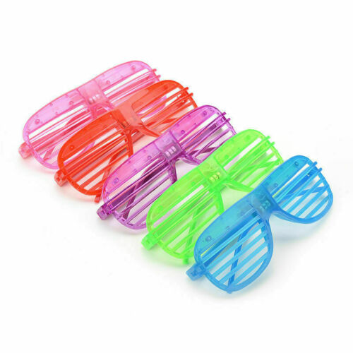 LIGHT Up LED, Occhiali, Incandescente, partito e club Occhiali, cuore e la forma ovale LOTTO
