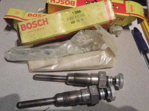 0 250 200 015 bougie de prechauffage Bosch 0250200015 Inutilisé Original GSA 10//11