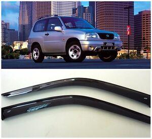 For Suzuki Grand Vitara 3d 2005-2015 Window Visors Rain Guard Vent Deflectors