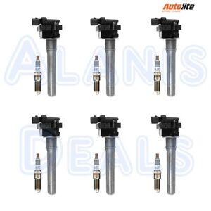 Set-of-6-Richporter-Ignition-Coils-6-Autolite-Iridium-XP5263-Spark-Plugs