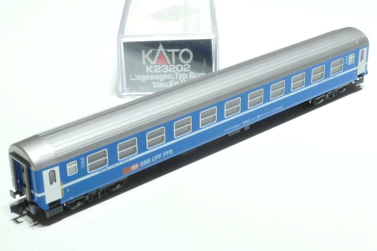 orden en línea Kato n n n SBB Ric 2. clase leigewagen azul k23202 OVP nuevo  venta caliente