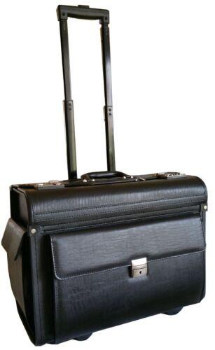 En cuir synthétique pilote Case Business Travel travail Mallette Trolley DOCTEUR Sac D/'ordinateur Portable