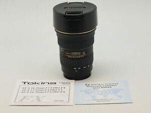 Tokina 16-28mm f/2.8 AT-X Pro FX for canon