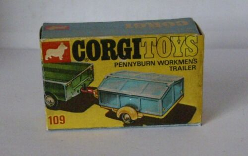 Repro Box Corgi Nr.109 Pennyburn Workmens Trailer