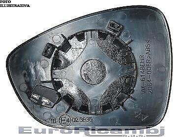 PIASTRA SPECCHIO PER CITROEN DS5 12/> TERMICA VETRO BLU SINISTRA