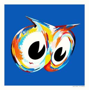 BLUE-OWL-COLORFUL-HOMAGE-PRINT-BY-KII-ARENS