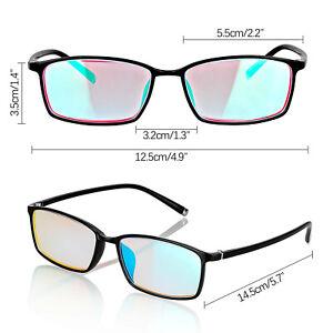 Colour Blind Glasses Red-Green Colour Blind, Full/Half Frame with Box | eBay