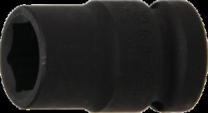 DOUILLE-A-CHOC-COURTE-6-PANS-CARRE-1-2-034-12-7-mm-de-15-MM