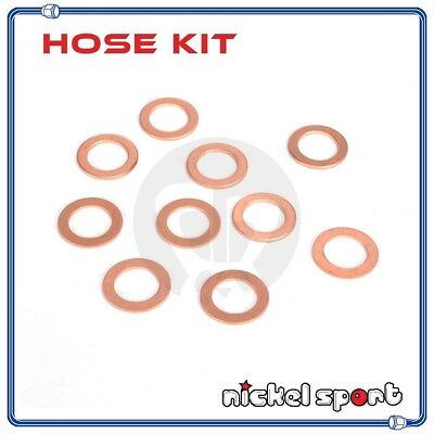 10 Pieces M18 18mm Crush Copper Washers