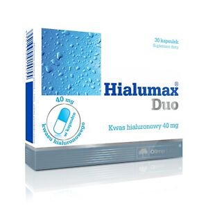 OLIMP-Hialumax-Duo-30-Caps-HYALURONIC-ACID-PERFECT-SKIN-amp-STRONG-JOINTS