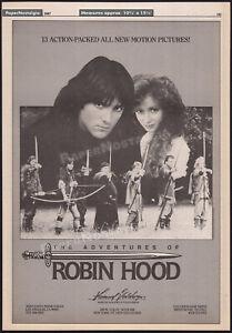 ROBIN HOOD__Original 1987 Print AD/ poster__MICHAEL PRAED_JUDI TROTT_of Sherwood