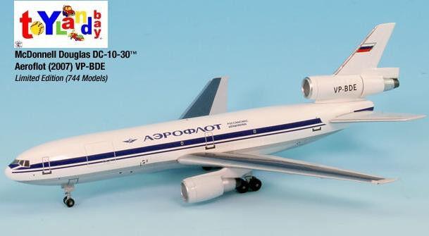 comprar mejor Inflight 500 500 500 rusa Aeroflot VP-BDE Douglas DC-10-30 1 500rojo VP-BDE retirado  venta mundialmente famosa en línea